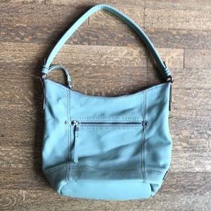 the sak Seafoam Green Leather Purse